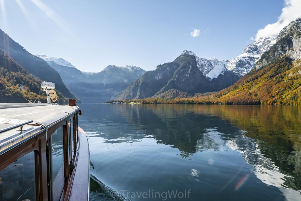 Alps scenic Hikes - Hike to Archenkanzel at Lake Königssee