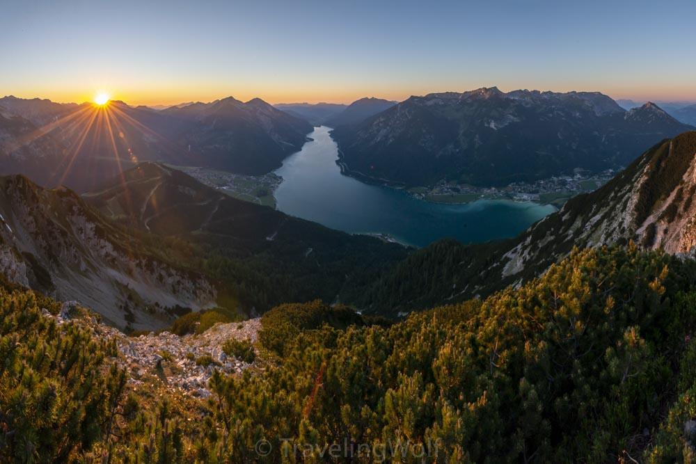 Alps Scenic Hikes - Bärenkopf at Lake Achensee