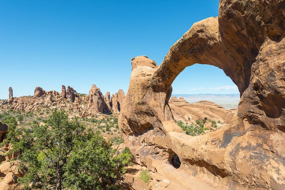 doble-o-arch arches national park