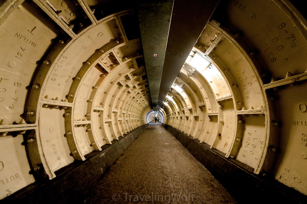 greenwich foot tunnel steam punk london