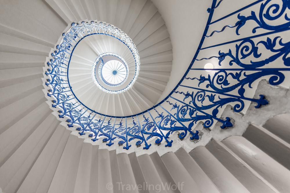 greenwich queens house tulip staircase london