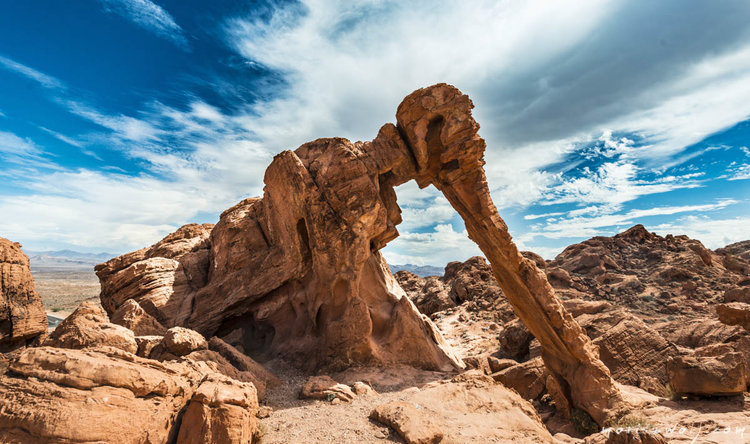 valley-of-fire-elephant-rock